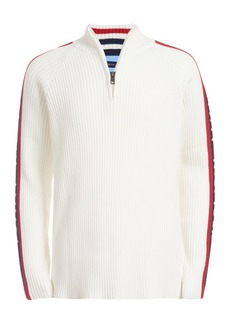 Tommy Hilfiger Toddler Boys Samuel 1/4-Zip Logo Sweater