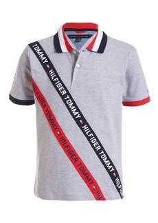 Tommy Hilfiger Toddler Boys Sloane Stretch Logo Tape Pique Polo Shirt