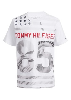 Tommy Hilfiger Toddler Boys Statue Of Liberty Star & Stripe Logo T-Shirt