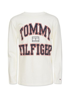 Tommy Hilfiger Little Boys Varsity Logo Shirt