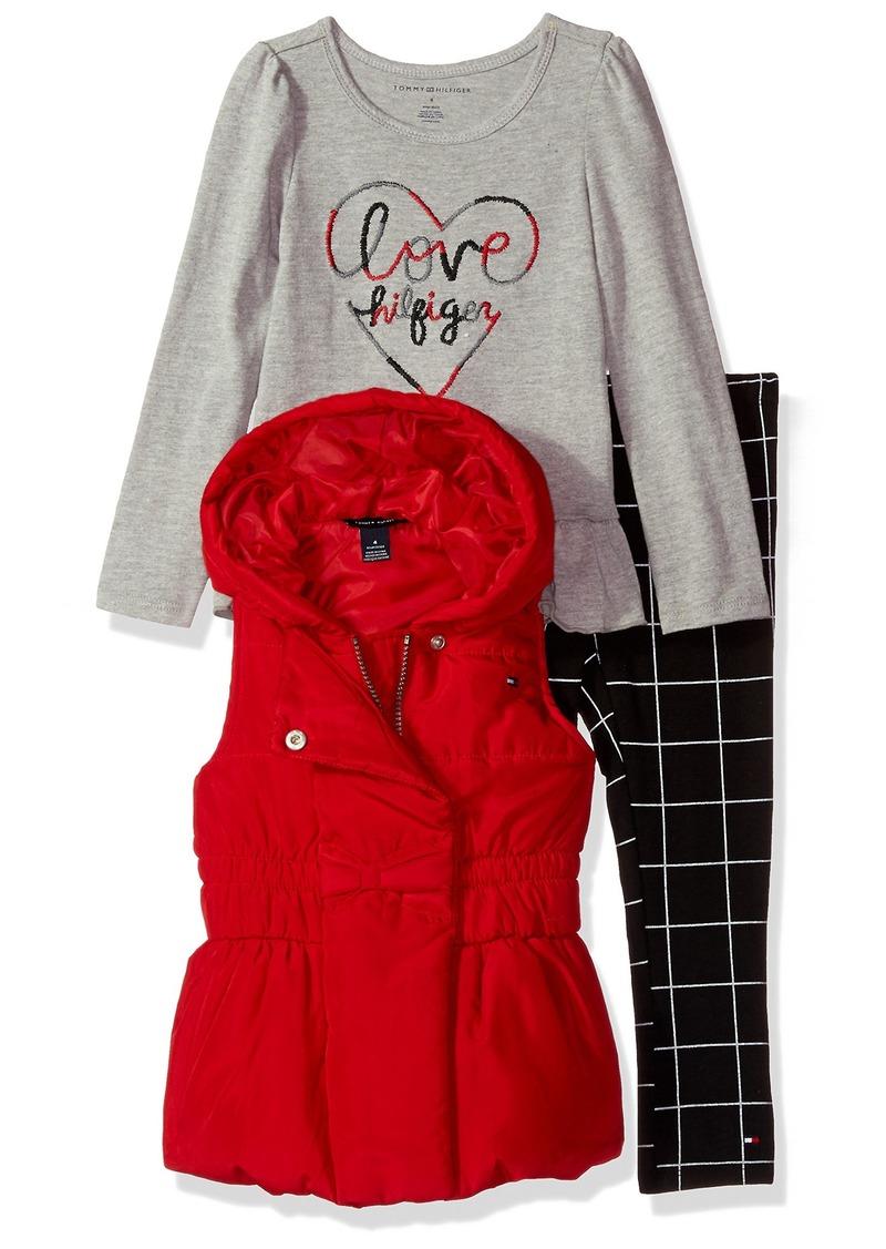 a1e4b9387 Tommy Hilfiger Tommy Hilfiger Toddler Girls' 3 Pieces Vest Set | Sets