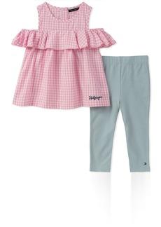 Tommy Hilfiger Girls' Toddler Fashion Tunic Set