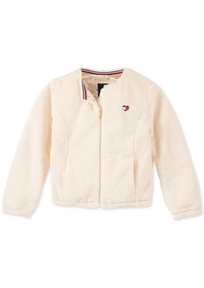 Tommy Hilfiger Toddler Girls Faux-Fur Jacket