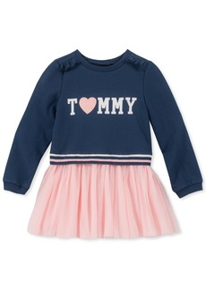 Tommy Hilfiger Toddler Girls French Terry Tutu Dress