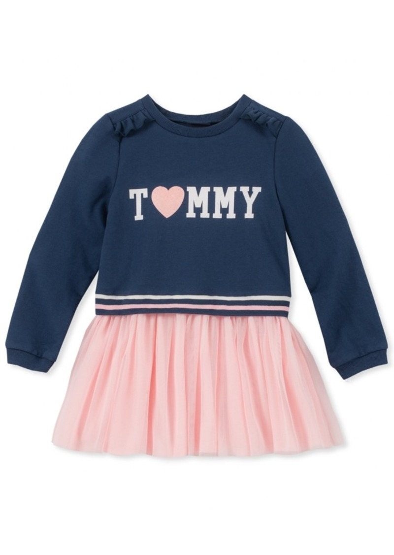 857ef9eacbc0 SALE! Tommy Hilfiger Tommy Hilfiger Toddler Girls French Terry Tutu ...