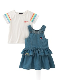 Tommy Hilfiger Girls' Toddler Jumper Set