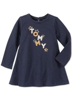 Tommy Hilfiger Toddler Girls Metallic Logo Dress