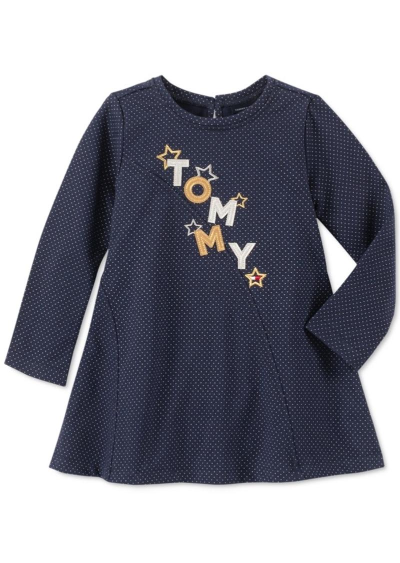 Tommy Hilfiger Little Girls Metallic Logo Dress