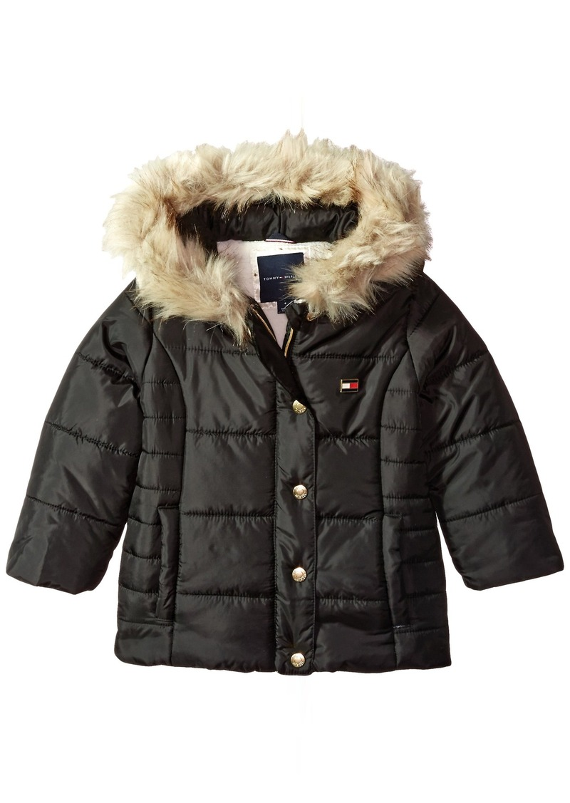 amazing selection search for authentic popular style Toddler Girls' Peacoat Puffer Jacket