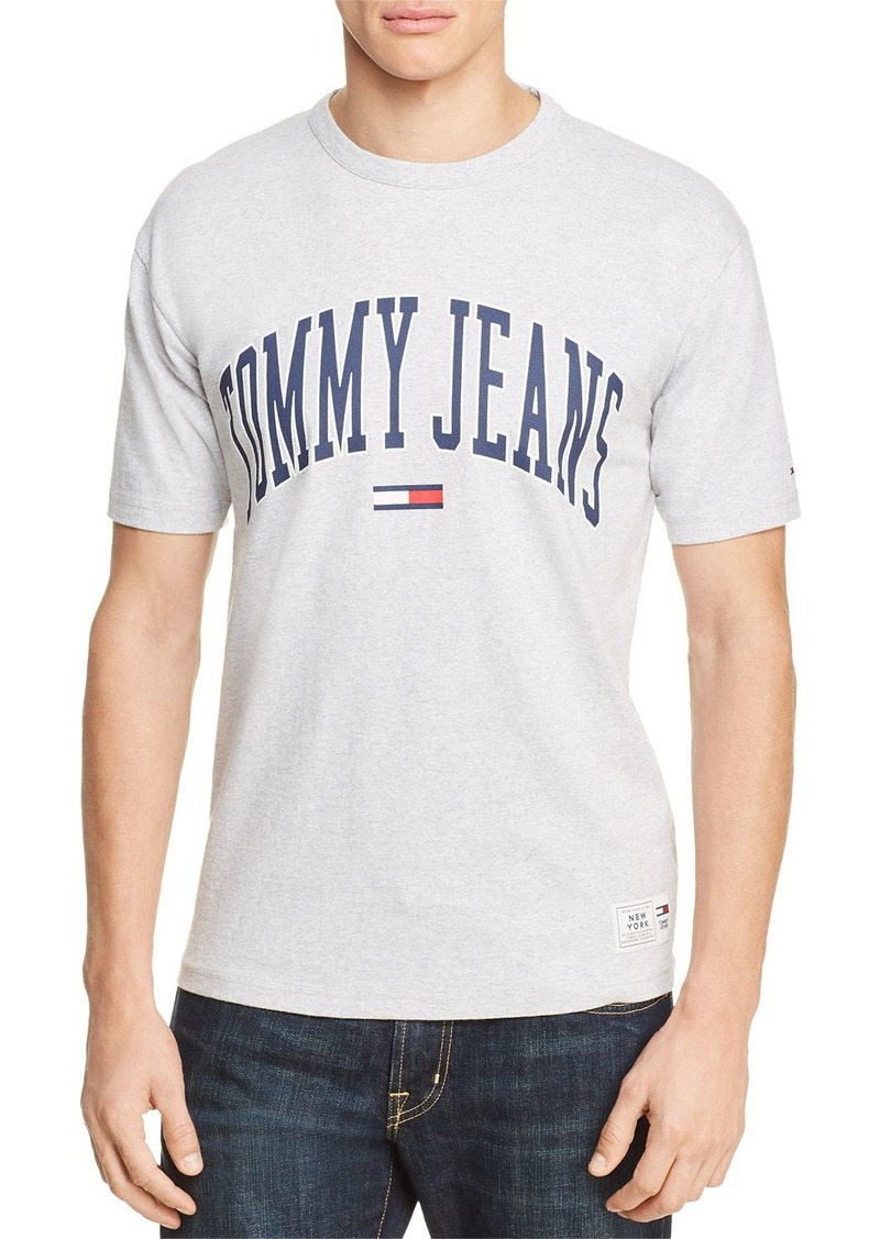 276c97d9 Tommy Jeans Collegiate T Shirt Pink - raveitsafe