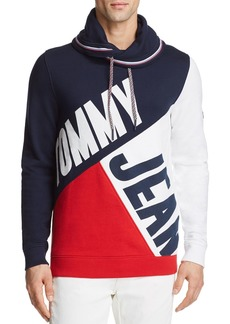 Tommy Hilfiger Tommy Jeans Color-Blocked Funnel Neck Pullover