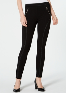 Tommy Hilfiger Topstitched Skinny Stretch Pants, Created for Macy's