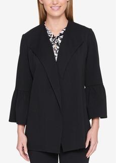 Tommy Hilfiger Tulip-Sleeve Knit Jacket