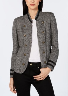 Tommy Hilfiger Tweed Band Jacket, Created for Macy's