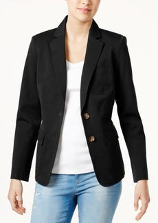 Tommy Hilfiger Two-Button Blazer, Only at Macy's