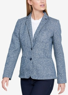 Tommy Hilfiger Two-Button Denim Blazer, Created for Macy's