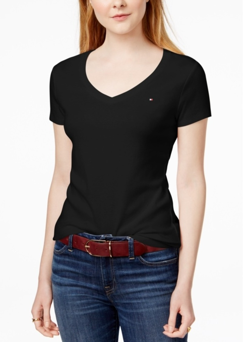 5b3122bde Tommy Hilfiger Tommy Hilfiger V-Neck T-Shirt, Created for Macy's ...