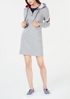 Tommy Hilfiger Varsity Hoodie Sweatshirt Dress