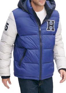 Tommy Hilfiger Varsity Logo Puffer Jacket
