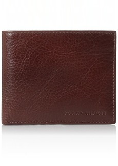 Tommy Hilfiger Wallets for Men - Slim Thin Smart Multipurpose Leather Bifold Passcase with Removable Flipout Card Holder