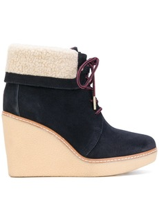 Tommy Hilfiger wedge boots - Blue