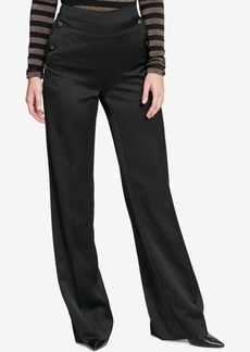 Tommy Hilfiger Wide-Leg Sailor Pants, Created for Macy's