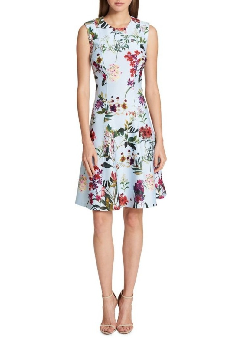 Tommy Hilfiger Wildflower Scuba Dress
