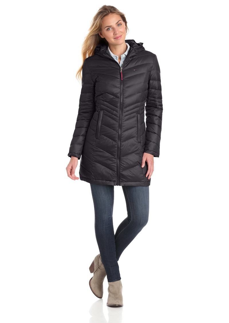 5a78ae9d2 Women's 3/4 Length Packable Down Coat