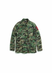 Tommy Hilfiger Women's Adaptive Camo Jacket with Magnetic Zipper