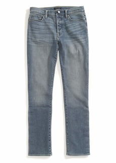 Tommy Hilfiger Women's Adaptive Jeans Straight Fit Adjustable Waist Magnet Buttons Medium wash