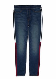 Tommy Hilfiger Women's Adaptive Jegging Fit Pull On Jean Dark WASH M
