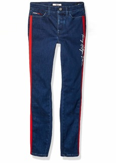 Tommy Hilfiger Women's Adaptive Jegging Jeans with Velcro Brand Closure and Magnetic Fly