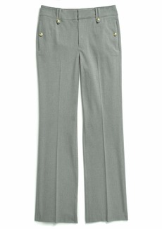 Tommy Hilfiger Women's Adaptive Pants Wide Leg with Adjustable Hems and Waist