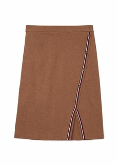 Tommy Hilfiger Women's Adaptive Ribbed Skirt with Stretch and Adjustable Waist  MD