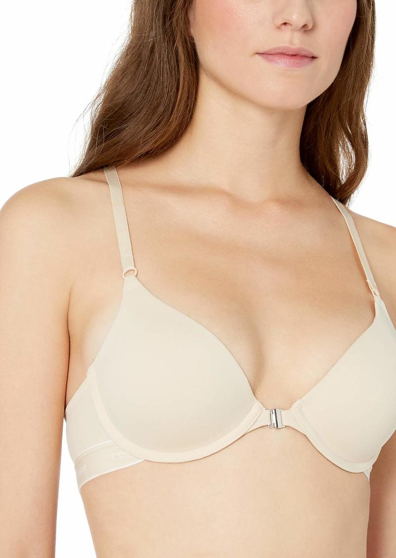 Tommy Hilfiger Women's Basic Comfort Push Up Racerback Underwire Bra