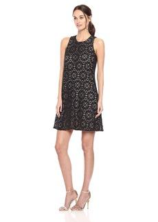 Tommy Hilfiger Women's Bloom Lace Sleevless Dress