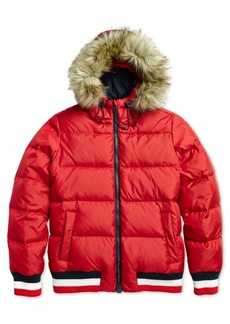 Tommy Hilfiger Women's Brosia Hooded Puffer from The Adaptive Collection