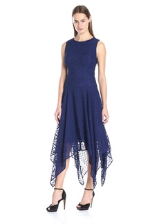 Tommy Hilfiger Women's Burnout Handkerchief Dress