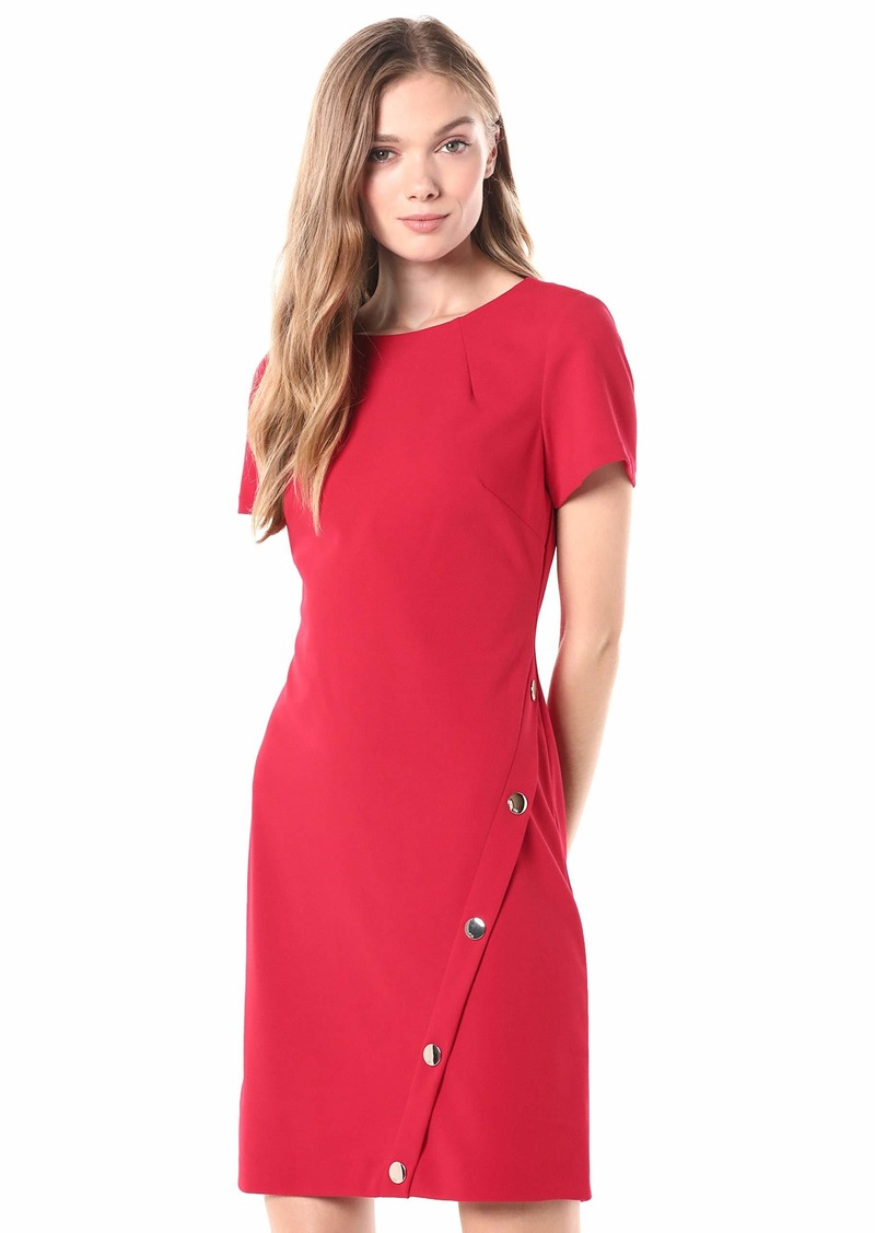 Tommy Hilfiger Women's Button Hem Pocket Dress