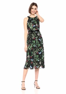 Tommy Hilfiger Women's Chiffon Midi Dress