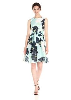 Tommy Hilfiger Women's Circle Clip Chiffon Dress