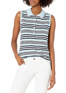 Tommy Hilfiger Women's Classic Sleeveless Polo  S