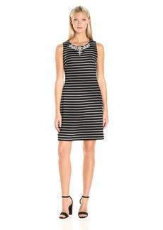 Tommy Hilfiger Women's Classic Stripe Shift Dress