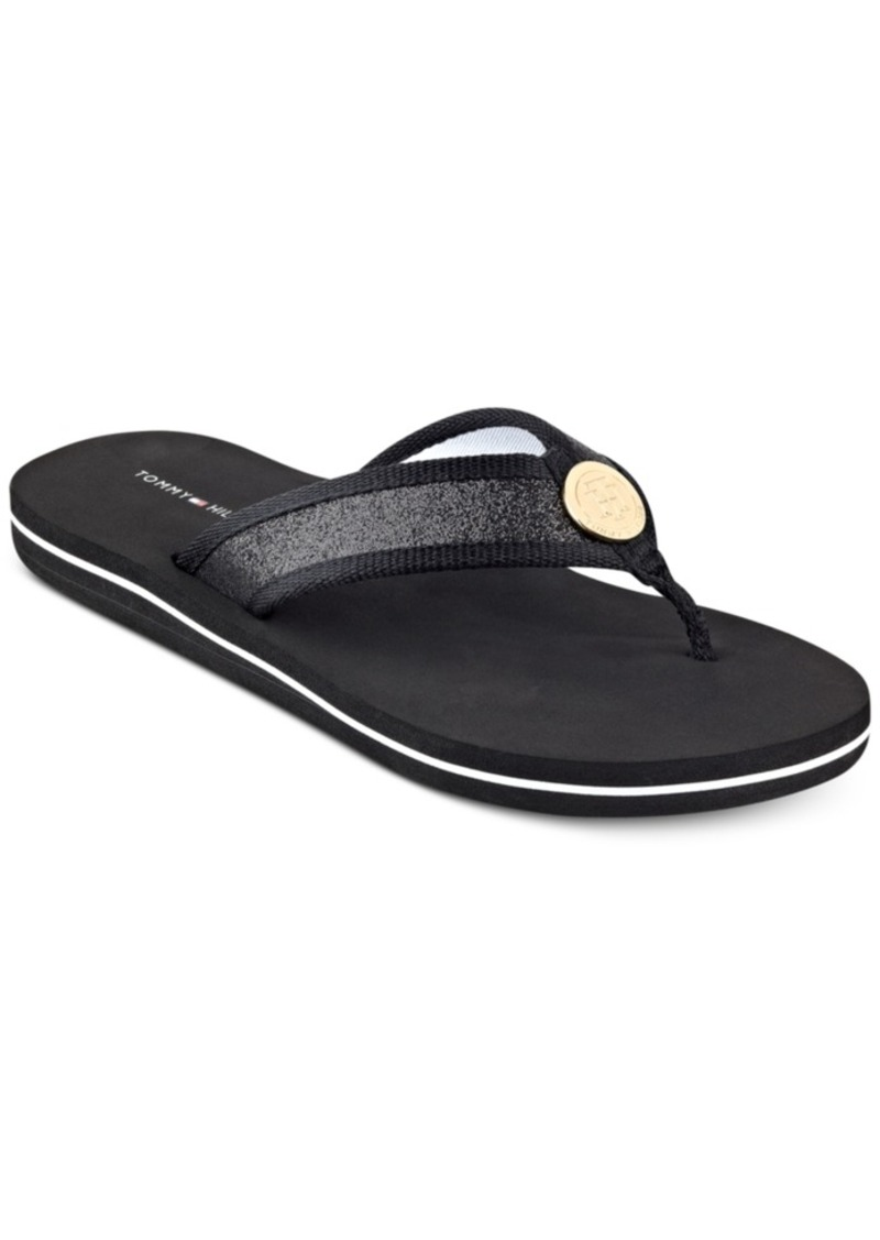 91101026d644f7 Tommy Hilfiger Tommy Hilfiger Women s Clove Flip-Flop Thong Sandals ...