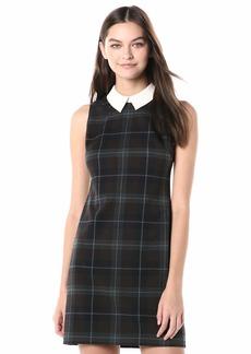 Tommy Hilfiger Women's Collared Sleeveless Shift Dress
