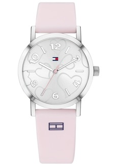 Tommy Hilfiger Women's Pink Silicone Strap Watch 32mm Created for Macy's