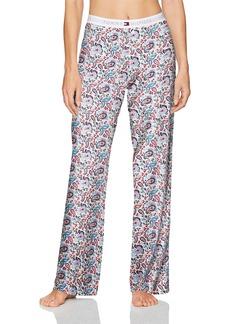 Tommy Hilfiger Women's Cotton Logo Bottom Pajama Pant All American Paisley M