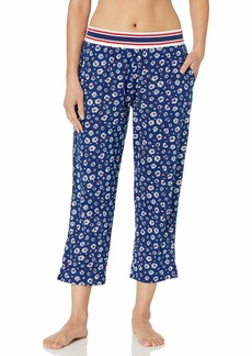 Tommy Hilfiger Women's Crop Pajama Pant Lounge Bottom Pj