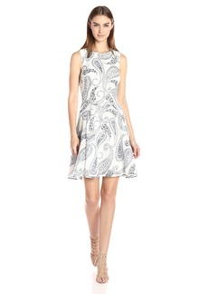 Tommy Hilfiger Women's Daisy Paisley Print Dress