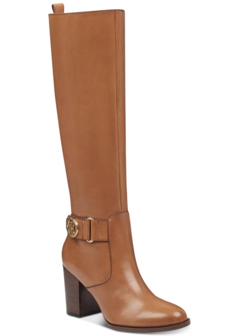 b40d0e908 Tommy Hilfiger Tommy Hilfiger Women s Deeanne Block-Heel Boots ...